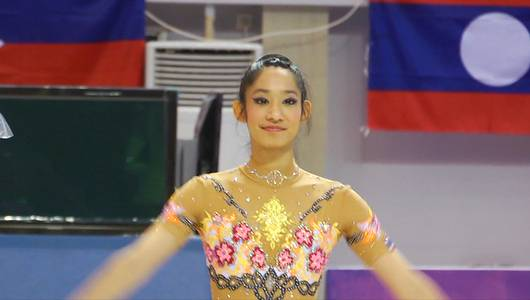 แกลอรีภาพ สู้ฝันซีเกมส์ นักกีฬายิมนาสติกทีมชาติไทย