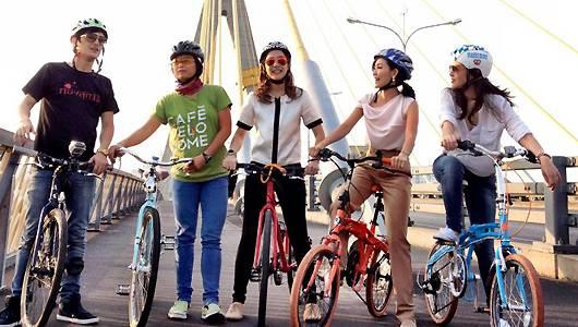 แกลอรีภาพ ชีวิตติดจักรยาน