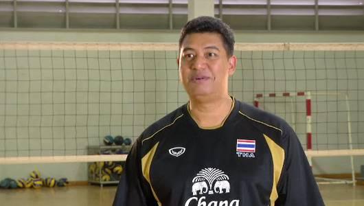 แกลอรีภาพ วอลเล่ย์บอลทีมชาติไทย ตอนที่ 1