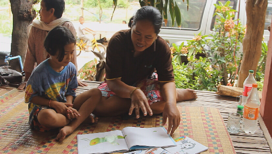 แกลอรีภาพ โครงการส่งเสริมการอ่านในเด็กและเยาวชน
