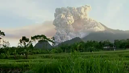 แกลอรีภาพ ผลกระทบภูเขาไฟระเบิด