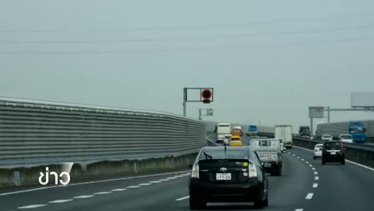 แกลอรีภาพ ญี่ปุ่นควบคุมระเบียบขับรถยนต์ลดอุบัติเหตุทางถนน