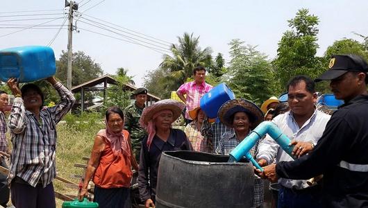 แกลอรีภาพ ปัญหาภัยแล้งที่ห้วยกระเจา จ.กาญจนบุรี