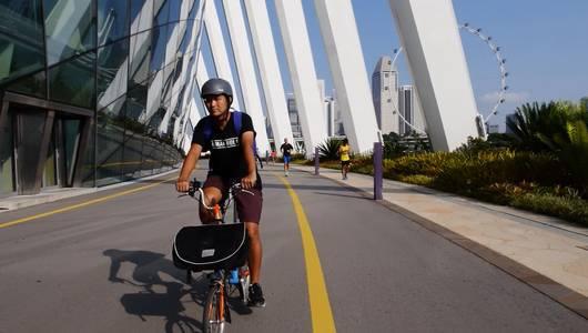 แกลอรีภาพ เส้นทางปั่นของชาวสิงคโปร์