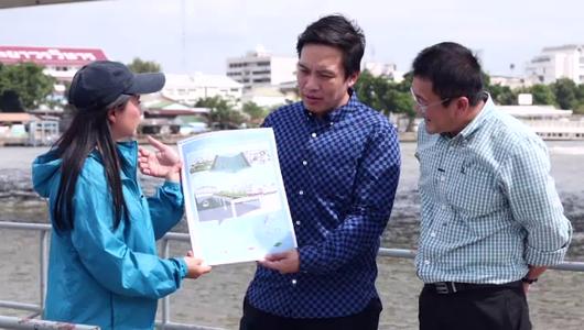 แกลอรีภาพ โครงการถนนเลียบ 2 ฝั่งแม่น้ำเจ้าพระยาในกรุงเทพฯ
