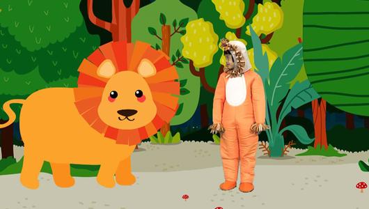 ขบวนการ Fun น้ำนม - กลุ่มดาวสิงโต