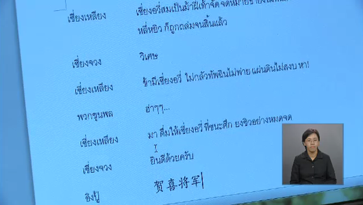 แกลอรีภาพ เบื้องหลังการแปลบทบรรยายภาษาไทยซีรีส์เรื่อง มู่หลาน