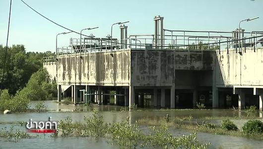 แกลอรีภาพ ตรวจสอบโครงการบ่อบำบัดน้ำเสียคลองด่าน