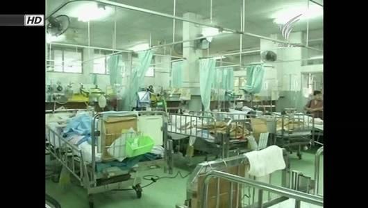แกลอรีภาพ วิกฤตผู้ป่วยล้นโรงพยาบาล ภาครัฐเร่งแก้ไข